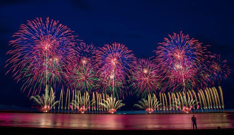 馬沙溝煙火。圖/台南市觀光旅遊局提供
