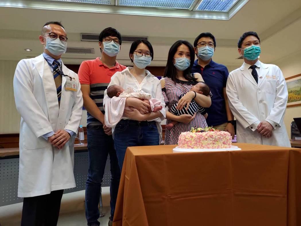 台北長庚醫院今年已收治5位懷有「單絨毛膜雙胞胎」的產婦,並運用「射頻燒灼術」執行...