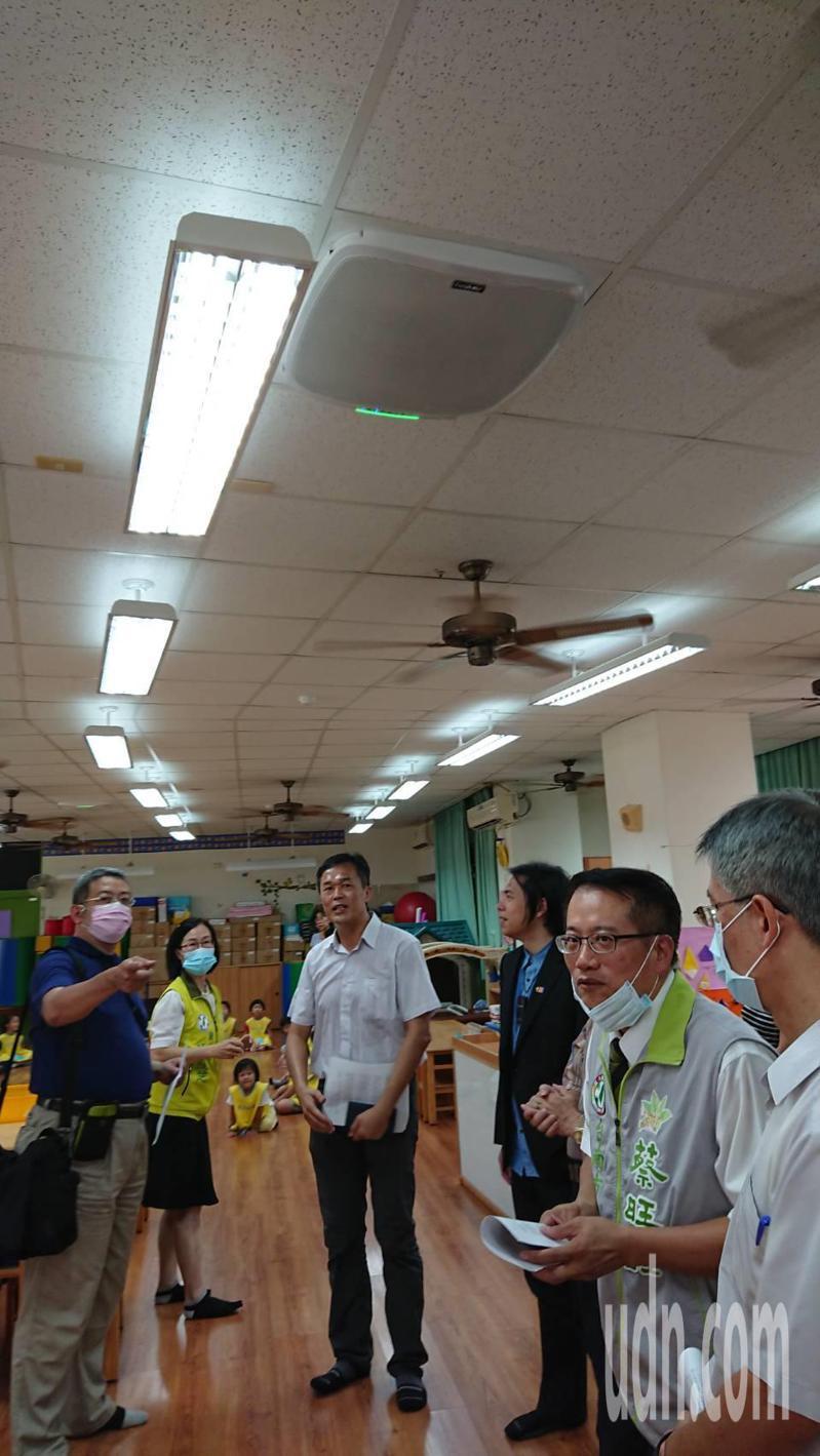 台南市德高國小附幼獲捐贈空氣清淨機,提供更好的學習環境。記者鄭惠仁/攝影