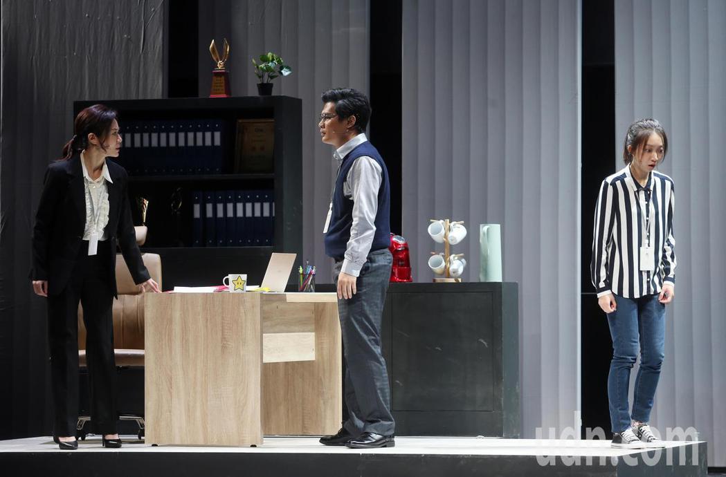 「我們與惡的距離」劇場版彩排。記者曾吉松/攝影