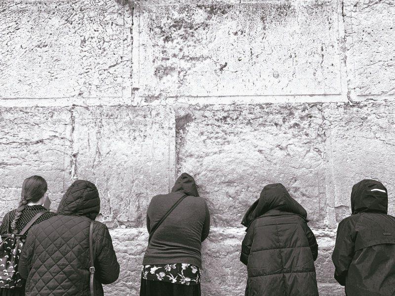 哭牆,以色列人的歷史之牆,每天有眾多的猶太人來祈禱。照片提供/綠尾巴團隊