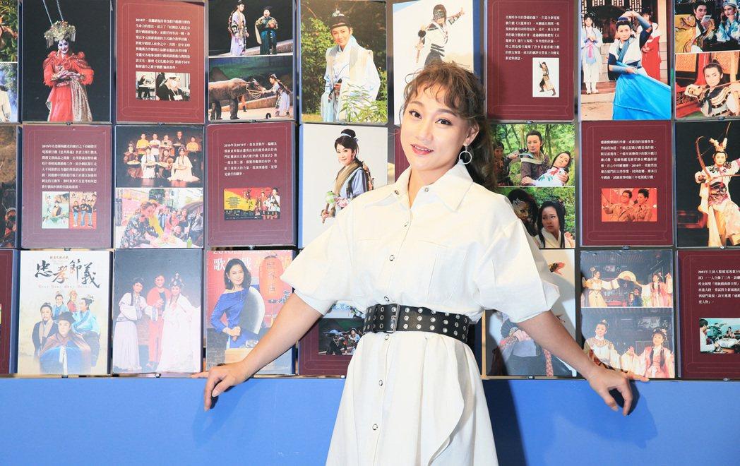 何佩芸從「我是楊麗花」海選比賽冠軍出道。記者潘俊宏/攝影