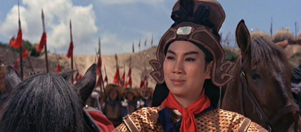 凌波因主演邵氏版「花木蘭」登上亞洲影后的寶座。圖/摘自imdb