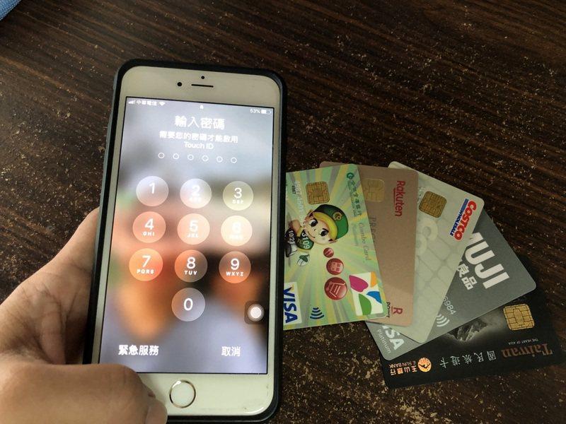信用卡費逾期未繳必須繳交違約金。示意圖,非新聞當事者。聯合報系資料照片