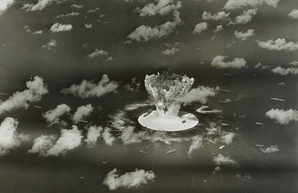 從1953年3月1日開始,美國在馬紹爾群島進行一連串核試驗。 圖/路透社