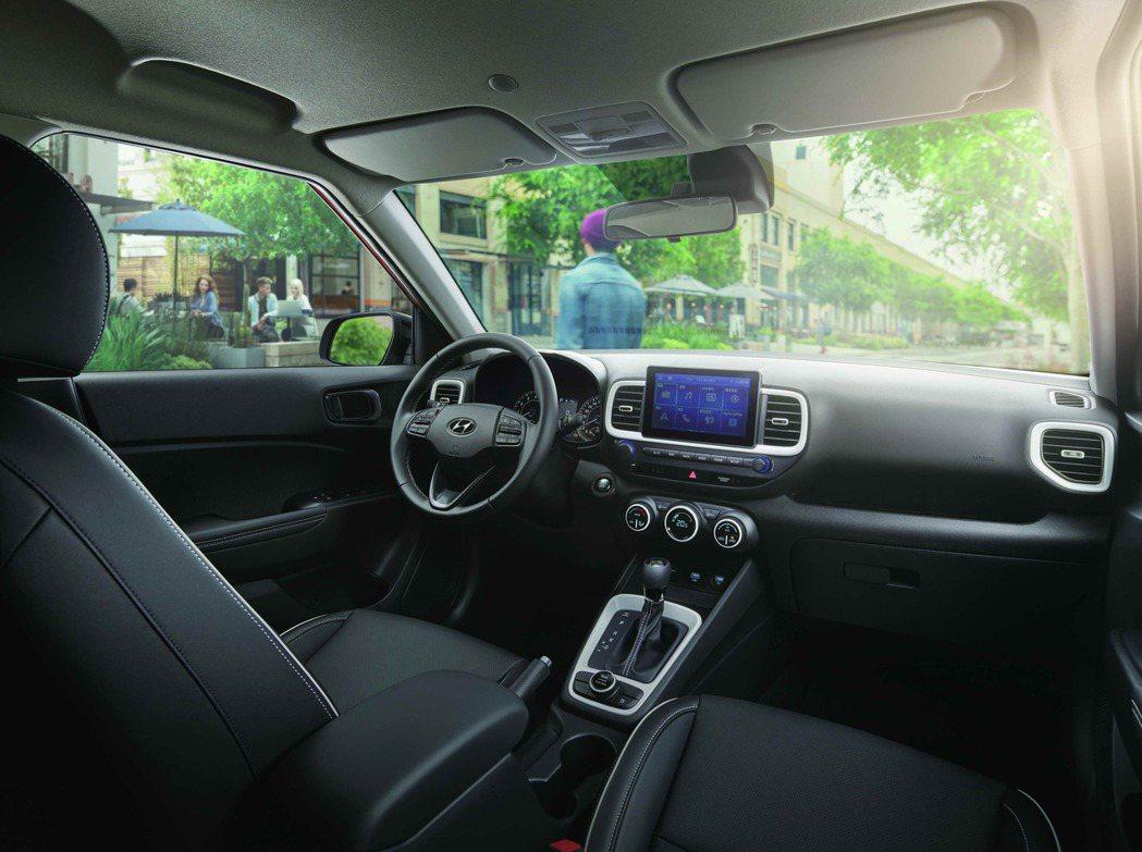 Hyundai Venue內裝。 圖/南陽實業提供
