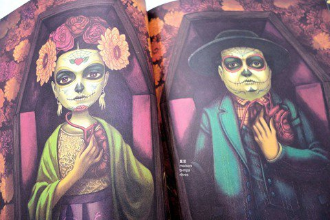 走進當代暗黑奇幻華麗異境:法國繪本男神班傑明.拉孔的歌德美學