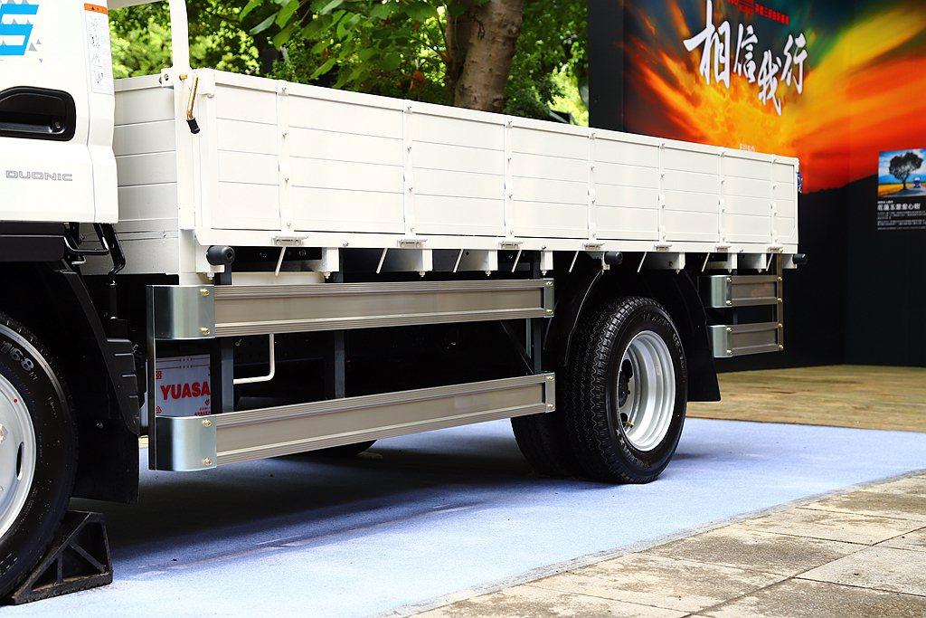 新出廠5噸貨車也必須配有ABS防鎖定煞車系統、車側防捲入裝置及行車視野輔助系統等...