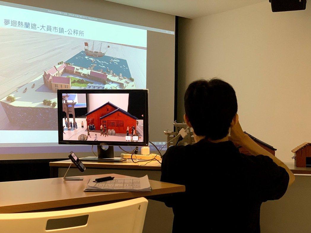同為賽事出題方的台南市政府,本次獲得六組團隊提案的機會。 蔡尚勳/攝影