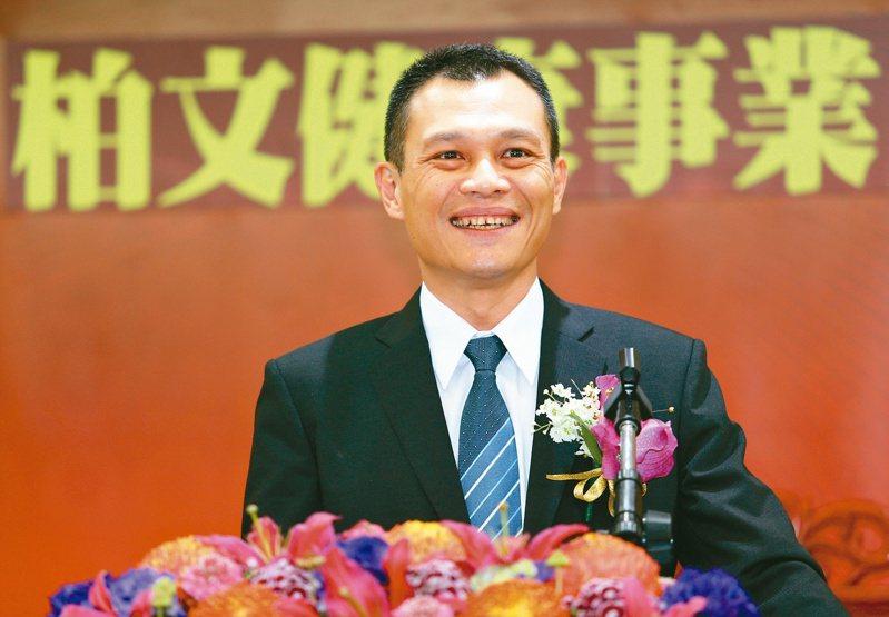 柏文董事長陳尚義。報系資料照