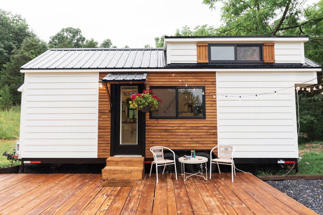美國賓州:明亮露營迷你屋。 Airbnb /提供