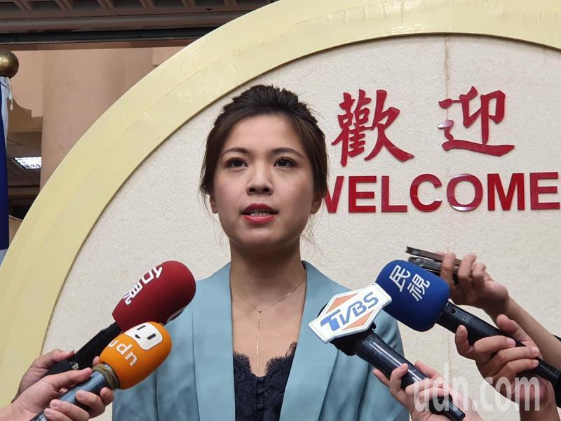 國民黨台北市議員鍾沛君。記者楊正海/攝影