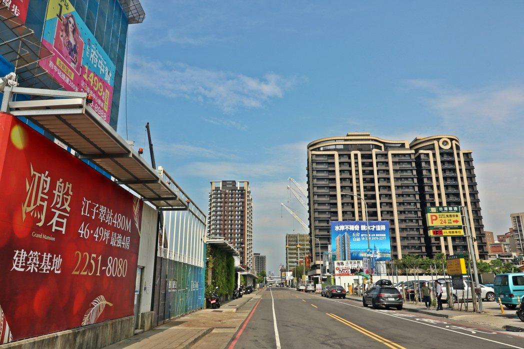 江翠北側重劃區 圖/591新建案提供