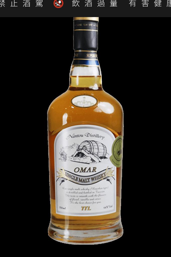 OMAR原桶強度麥芽威士忌波本桶,清甜迷人。圖/台灣菸酒提供。提醒您:禁止酒駕 ...