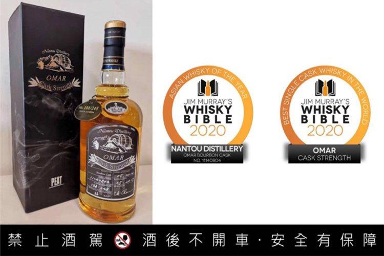 由Jim Murray撰寫的《威士忌聖經》,2020年首度納入台酒OMAR威士忌...