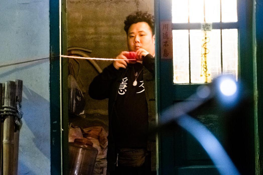劉國劭在「馗降:粽邪2」有討喜演出。圖/華影國際提供