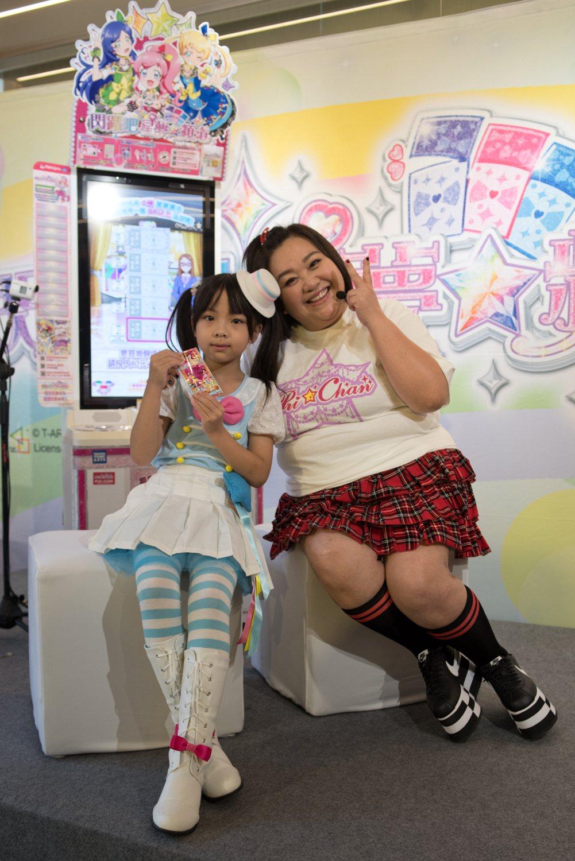 鍾欣凌出席電玩活動,少女心噴發,笑稱想當動感超偶。圖/世雅育樂提供