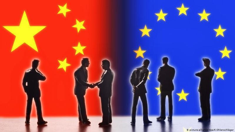 9月14日,中國國家主席習近平、歐盟理事會主席米歇爾(Charles Michel)、歐委會主席馮德萊恩(Ursula von der Leyen)和作為輪值主席的梅克爾將在虛擬的會議廳進行會談。圖/德國之聲中文網