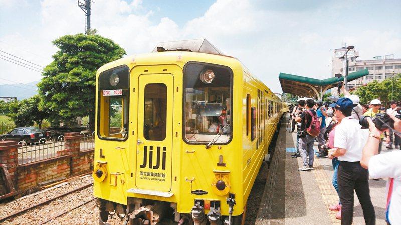 南投僅有觀光用的台鐵集集支線,縣議員呼籲中央重視南投鐵路建設。 圖/聯合報系資料照片