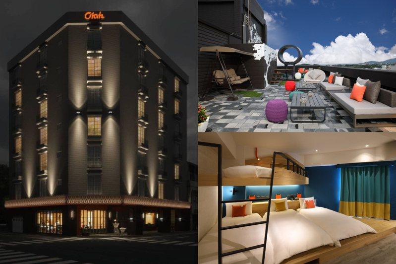 遠雄集團旗下首間「悅樂旅店」已於8月中試營運,預計10月下旬正式開幕。圖/悅樂旅店官網、悅樂旅店臉書專頁