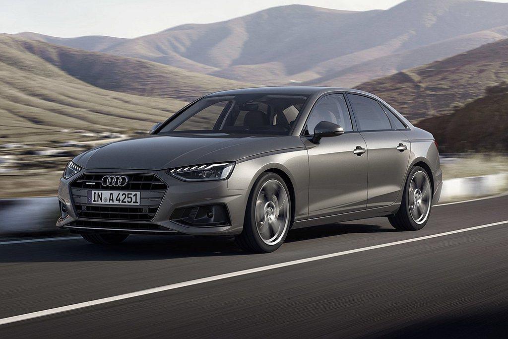 小改款Audi A4送測40 TFSI房車,搭載2.0L汽油渦輪引擎跑出16.1...