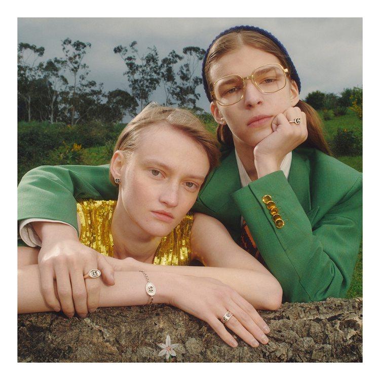 GUCCI近年大受熱捧的懷舊風格,同樣反應在Fine Jewelry的設計取向上...