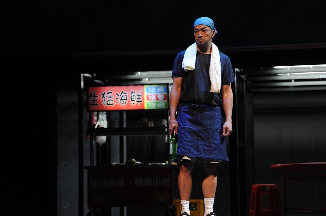 全聯先生客串「我們與惡的距離」劇場版,竟是睽違8年再站上舞台劇舞台。圖/故事工廠...