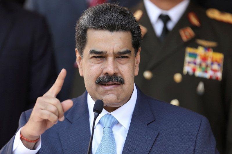 委內瑞拉總統馬杜洛。攝於3月。路透