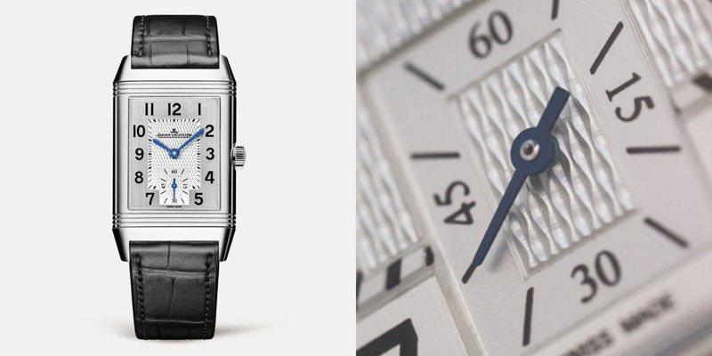 積家,Reverso系列Classic Medium Small Second腕表,精鋼,手上鍊機芯,小三針腕表,18萬6,000元。圖/翻攝自積家官方網站