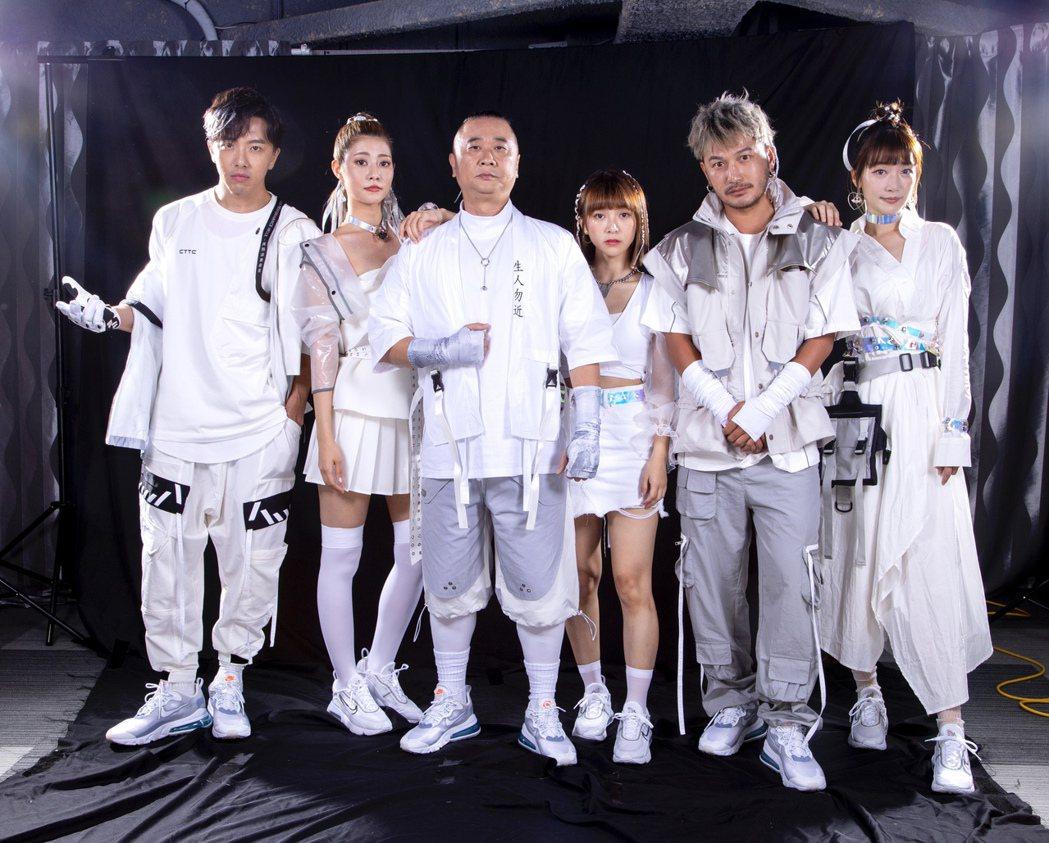 由邰智源領軍的「木曜4超玩」擁有大批死忠粉絲。圖/華貴娛樂提供