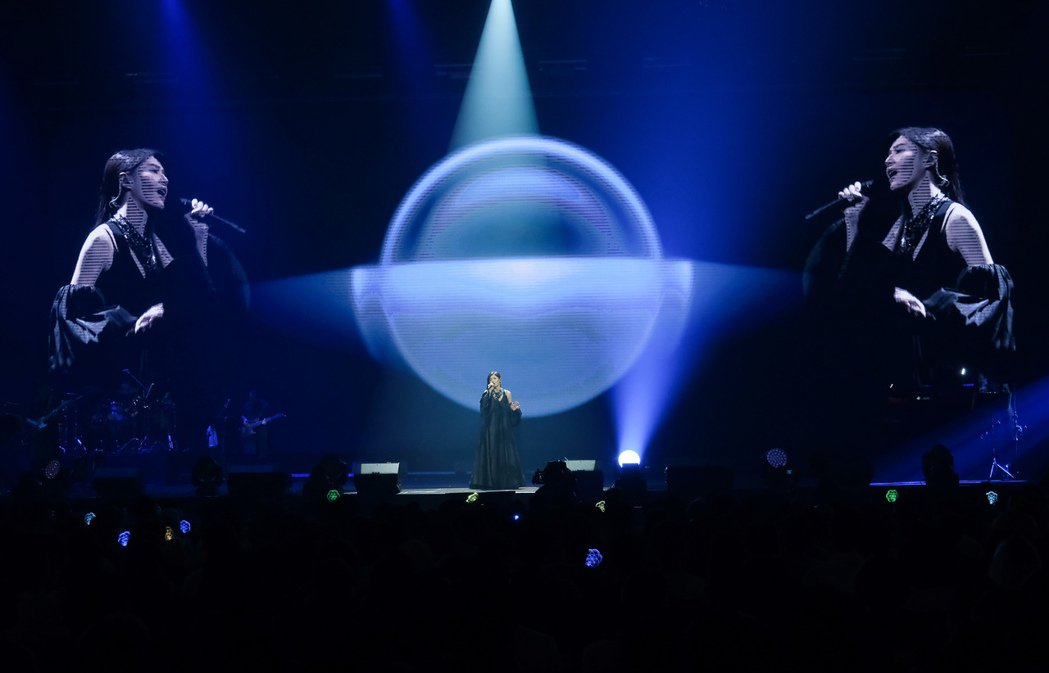 蘇慧倫12日舉行個人首場大型「生命之花」演唱會。圖/相信音樂提供
