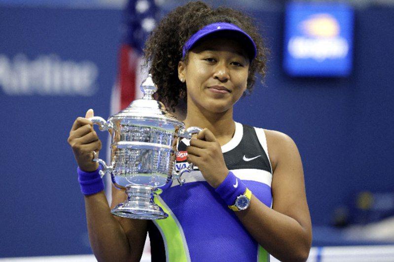 美網女單賽大坂直美奪冠。 歐新社