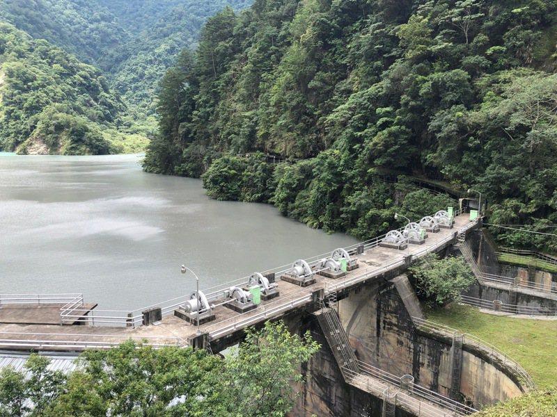 圖為濁水溪上游武界壩引水口。圖/台電大觀發電廠提供