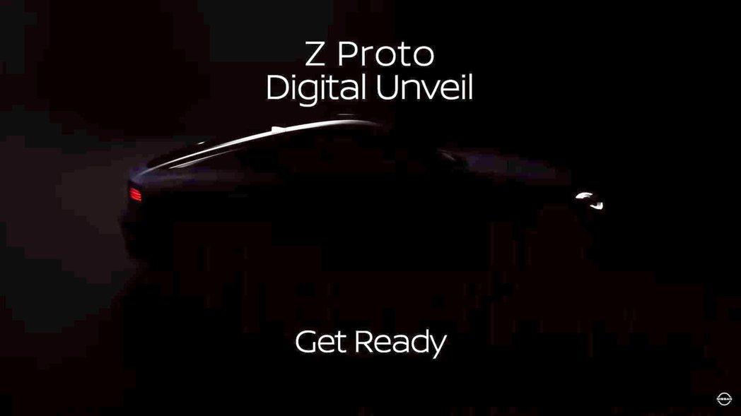 將圖片稍微調亮便可看出Z Proto車尾樣貌。 摘自Nissan