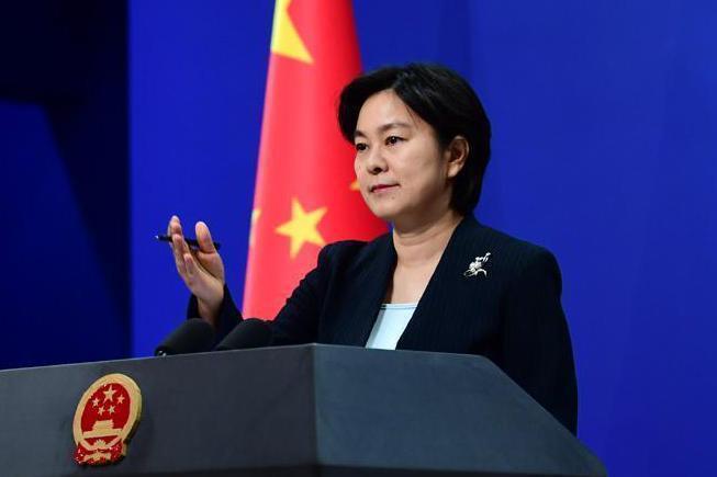 大陸外交部發言人華春瑩。圖/取自央視新聞截圖 呂佳蓉