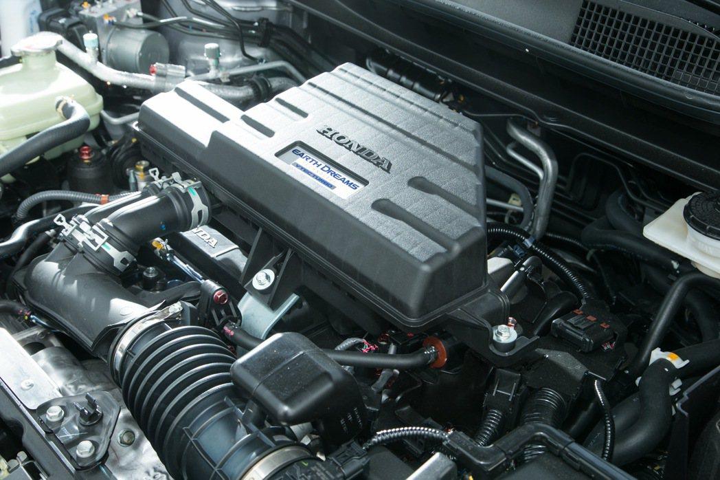 1.5L VTEC Turbo直噴渦輪增壓引擎。 記者陳立凱/攝影