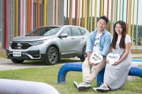 男孩轉大人的最佳後援 Honda CR-V幸福家庭起點
