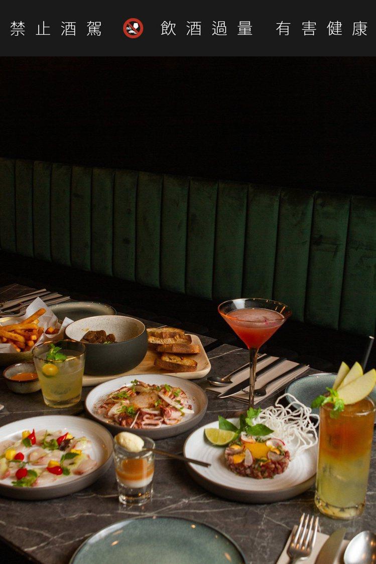 瑪黑餐酒新開幕,即日起至10月11日推出開幕優惠。圖/瑪黑提供