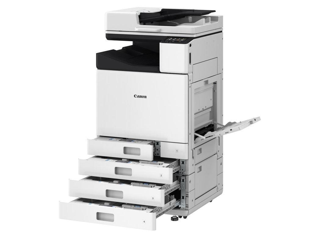 Canon WG系列配有最多可容納2,250張紙的大容量進紙匣及可列印高達20,...