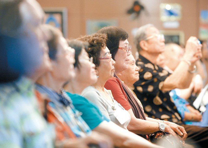 台灣步入高齡化社會,高齡化所產生問題也逐漸浮現。圖/聯合報系資料照片