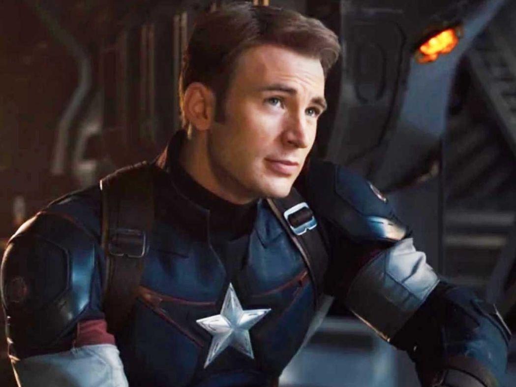 「美國隊長」克里斯伊凡。圖/摘自推特