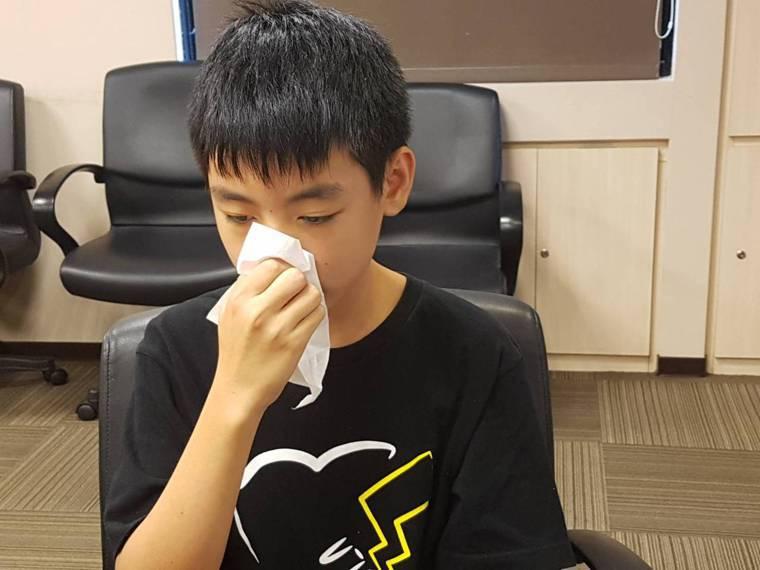 醫師提醒鼻噴劑可別隨便用,否則反容易引起藥物性鼻炎。記者楊雅棠/攝影