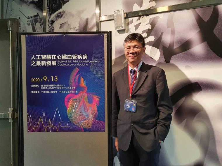 北榮心臟內科主任林彥璋表示,AI可以定位出核心的心房顫動燒灼點,不用再「燒很多地...