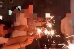 扯!網紅KTV大玩仙女棒 網怒轟:忘了林森錢櫃火災教訓?