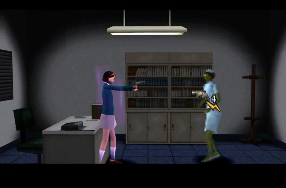 本作遊戲主角擁有雙重人格(冒紫色煙)是一大特色,遊戲之中也必須利用切換人格的方式...