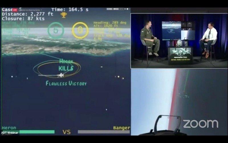 8月20日,美國國防先進研究計劃署(DARPA)舉行「阿爾法纏鬥」總決賽。 圖/DARPA