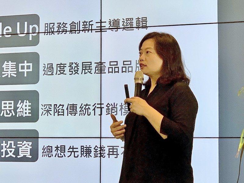 智策慧行銷顧問公司總經理吳秀倫。  新創總會/提供