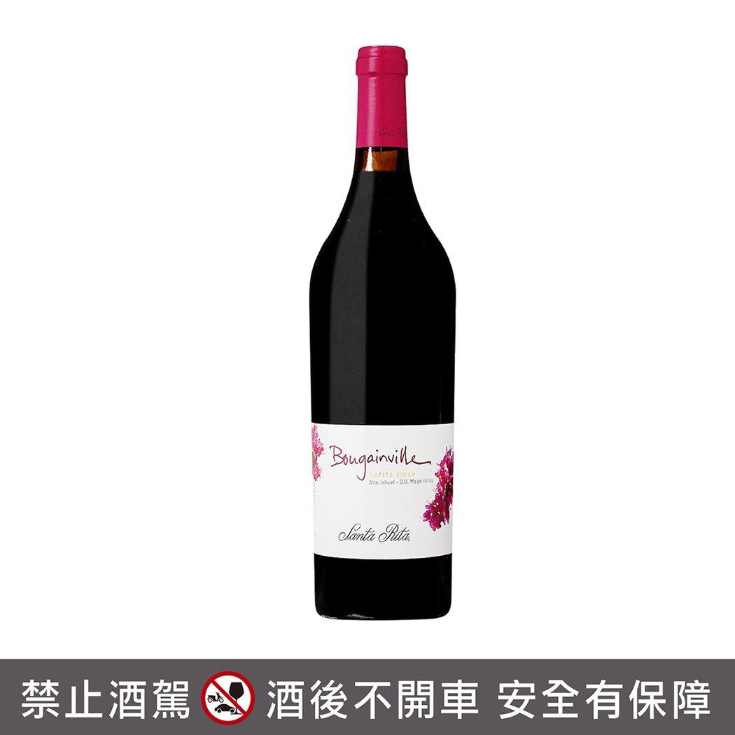 智利聖大力布根維爾小希哈紅葡萄酒。橡木桶洋酒/提供