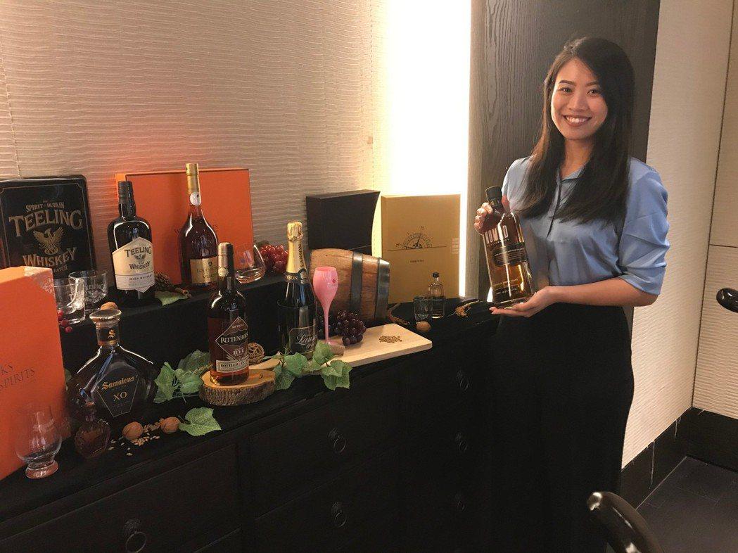 橡木桶洋酒發表中秋酒款禮盒,時尚酒禮、驚喜討好!項家麟/攝影
