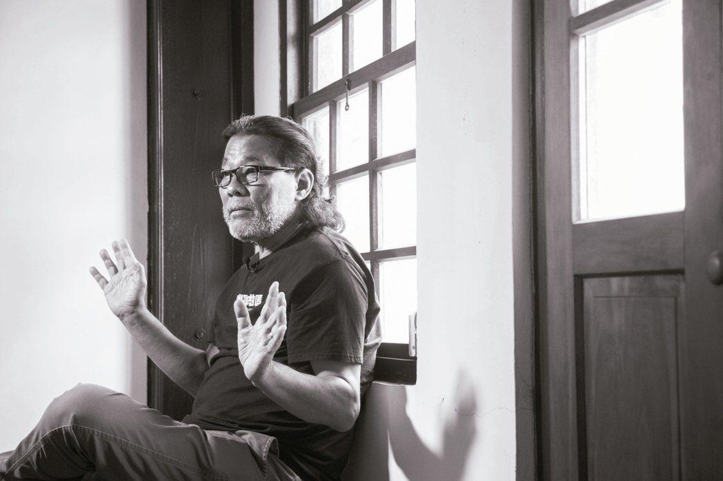 李屏賓投入電影業四十餘年,仍親自操機拍攝。記者陳立凱/攝影